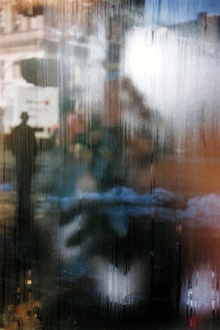 """Street Scene"" (1959) by Saul Leiter"