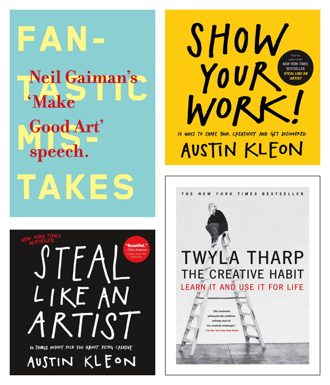 Three Books (Well... Four...) To Pull You Out of a Creative Slump - Reghan Skerry