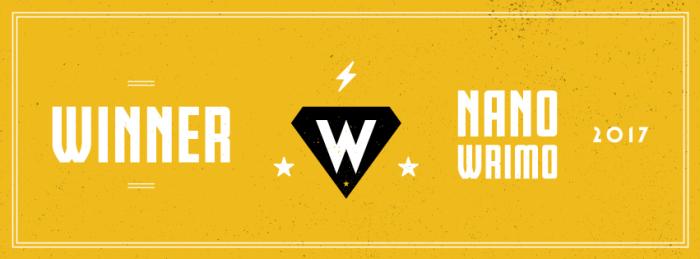 NaNoWriMo 2017   Winner