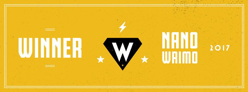 NaNoWriMo 2017 | Winner
