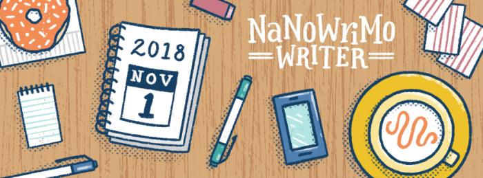 NaNoWriMo 2018 Writer
