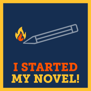 NaNoWriMo - 1 Day Streak Badge