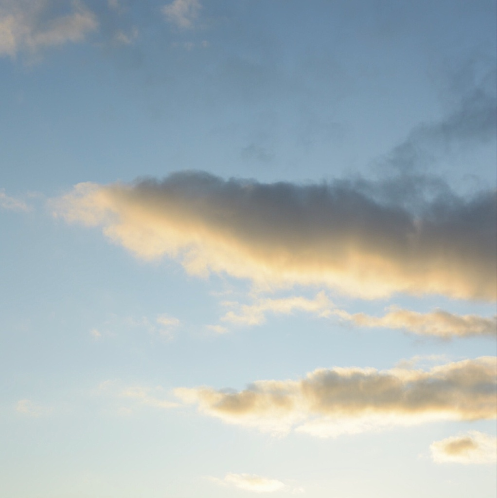 Clouds at sunset. Photo by Reghan Skerry.