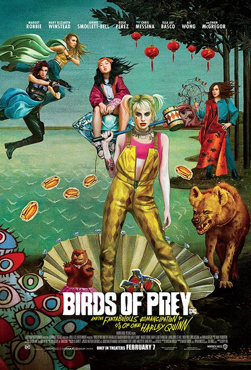 Theatrical poster for Birds of Prey.